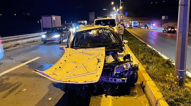 Adıyaman'da otomobil takla attı: 4 yaralı