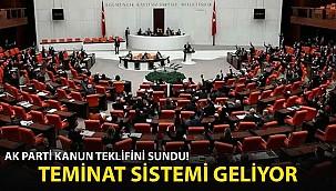AK Parti Kanun Teklifini Sundu! Tenimat Sistemi Geliyor