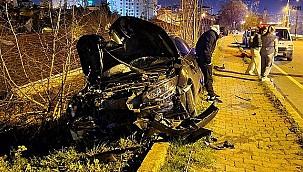 Alkolü sürücünün yalanını polis böyle ortaya çıkardı.