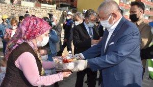 Amasya Belediyesinden halka 100 bin Ramazan pidesi