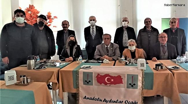 Anadolu Aydınlar Ocağı 10. Olağan Kongresi gerçekleştirildi