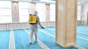 Ankara'da camiler Ramazan'a hazırlanıyor