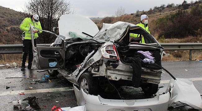 Ankara'da kaza: 4 ölü 5 yaralı