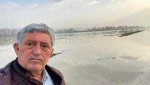 Baraj kapakları açıldı, 30 bin dönüm arazi sular altında kaldı