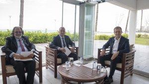 Başkan Seçer, 4 televizyon ve 22 radyonun ortak yayınında 2 yılı değerlendirdi
