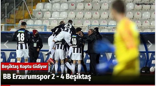 BB Erzurumspor 2 - 4 Beşiktaş