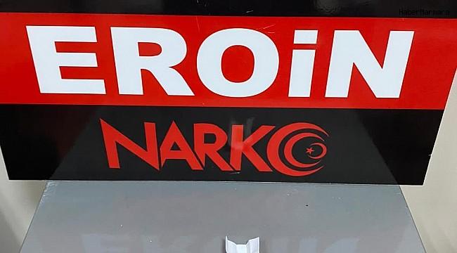 Bitlis'te bir kişinin üst aramasında eroin ele geçirildi