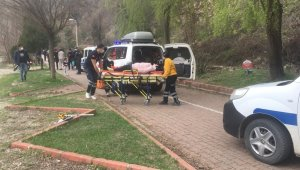 Boyabat'ta kaza: 1 yaralı