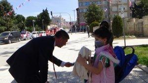 Burdur'da 23 Nisan pandemi tedbirleriyle kutlandı