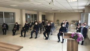 Burhaniye'de koronavirüs değerlendirme toplantısı