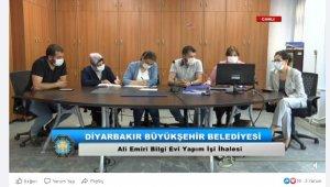 Canlı ihale yayınlarıyla 353 milyon lira belediyenin kasasında kaldı