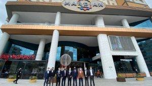 Cezayir'in Ankara Büyükelçisi Mourad Adjabi Mardian Mall Alışveriş Merkezi yönetimini ziyaret etti