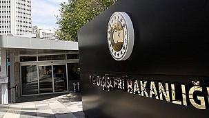 Çin'in Ankara Büyükelçisi Dışişleri Bakanlığı'na Çağrıldı