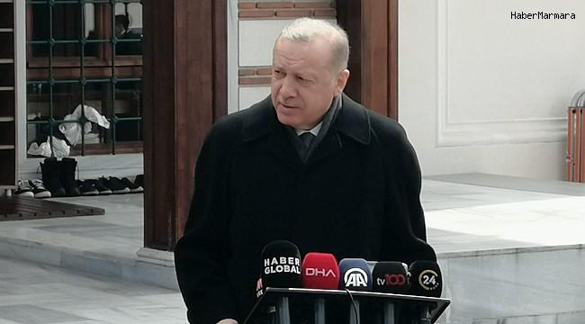 """Cumhurbaşkanı Erdoğan: """"Dışişleri Bakanımız, Dendias'ın davranışları karşısında ona haddini bildirdi"""""""