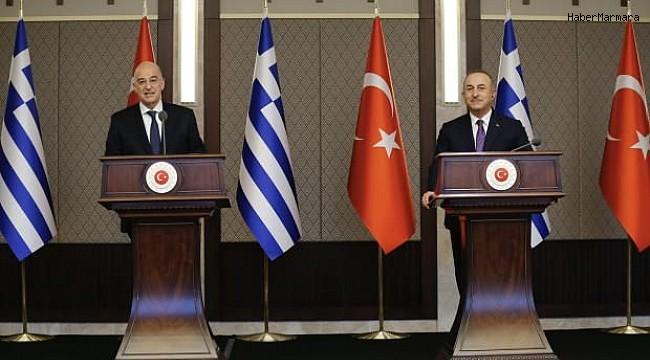 Dışişleri Bakanı Çavuşoğlu'ndan Yunanistan Dışişleri Bakanı Dendias'a sert tepki