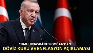 Erdoğan'dan Döviz Kuru ve Enflasyon Açıklaması