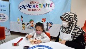 Erikli Çocuk Aktivite Merkezi açıldı