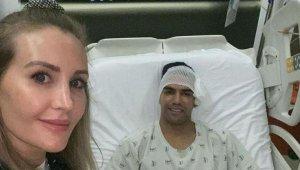 Falcao'nun ameliyatından sonra ilk fotoğraf geldi
