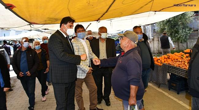 Fethiye Karagedik Pazaryeri açıldı