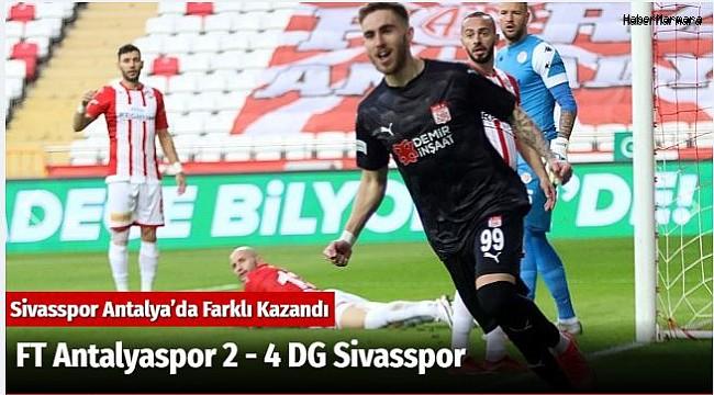 FT Antalyaspor 2 - 4 DG Sivasspor
