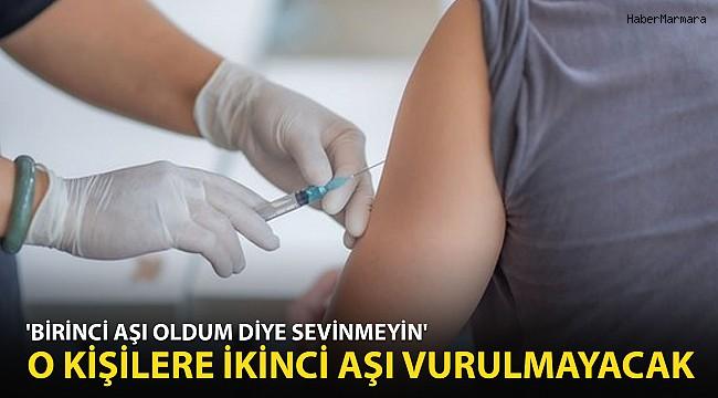 İl Sağlık Müdürü İlk Doz Aşı Olanları Uyardı