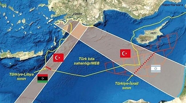 """""""İsrail'in Doğu Akdeniz ve Kızıldeniz'deki askeri yönden yayılmacı girişimlerine karşı sessizliği düşündürücüdür"""""""