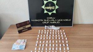 Kayıp olarak aranıyordu uyuşturucu satarken yakalandı