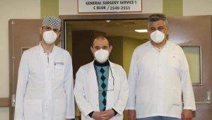 Kayseri Şehir Hastanesi'nde bir ilk: kapalı yöntemle yemek borusu kanseri ameliyatı yapıldı
