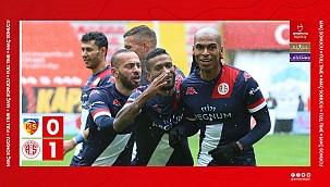 Kayserispor 0 - 1 Antalyaspor