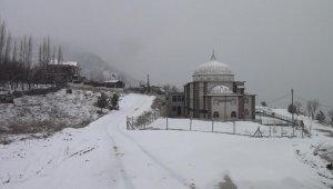 Kütahya'da nisan ayında kar sürprizi