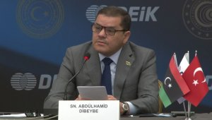 Libya Başbakanı Dibeyde Türk yatırımcılarla bir araya geldi