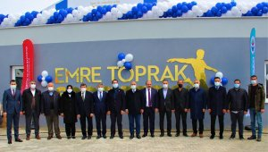 Metruk bina 5 yıldızlı spor tesisine dönüştürüldü