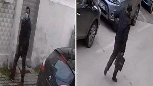 Rahatlıkta sınır tanımayan hırsız önce kameralara sonra polise yakalandı
