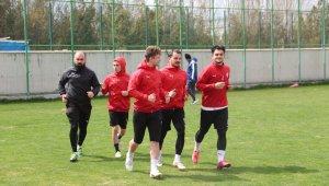 Sivas Belediyespor, Mamak maçı hazırlıklarına başladı