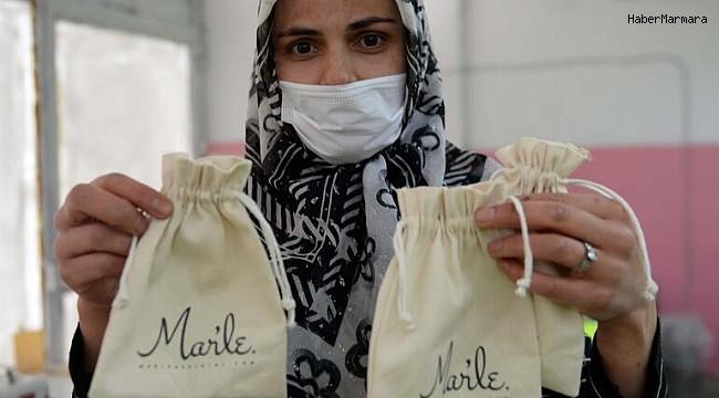 Tokat'ta üretilen hediyelik bez torbalar İçin Avrupa sıraya girdi