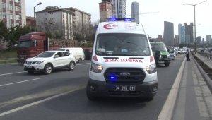 Ümraniye TEM'de feci kaza: 1 ölü