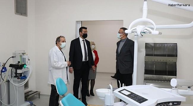 Ürgüp Belediye Başkanı Aktürk, Diş Hekimliği Fakültesini ziyaret etti