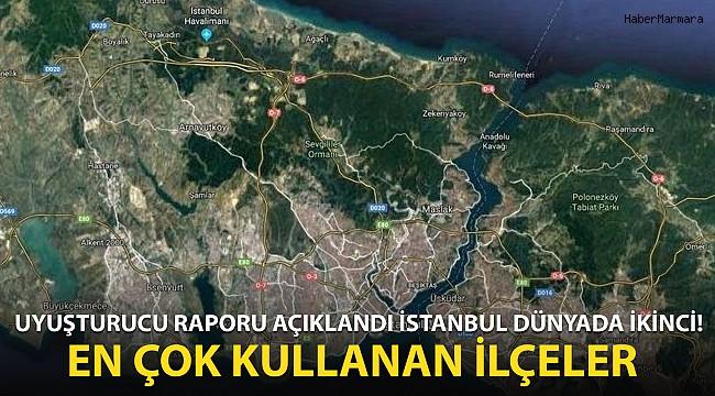 Uyuşturucu Raporu Açıklandı! İstanbul Dünyada İkinci Sırada