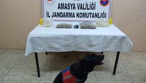 Amasya'da operasyonda 1 kilogram uyuşturucu ele geçirildi