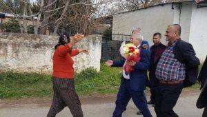 Başkan Özgan'dan şehit annesine anlamlı hediye