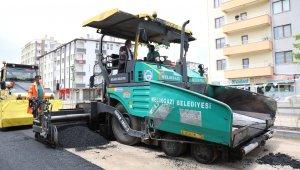 """Başkan Palancıoğlu: """"60 günde 50 bin ton asfalt ile pandemiyi hizmete dönüştürdük"""""""