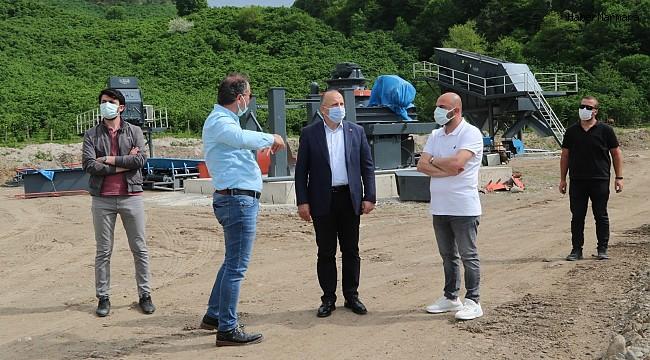 """Başkan Tavlı: """"Konkasör tesisi kırsaldaki yol sorununa neşter vuracak"""""""