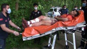 Bıçaklanan şahıs ormanlık alanda bulundu