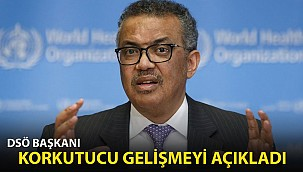 DSÖ Başkanı Korkutucu Gelişmeyi Açıkladı