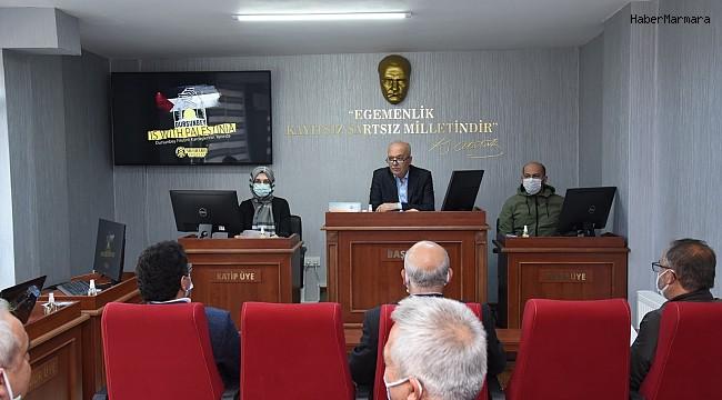 Dursunbey Belediye Meclisi'nden İsrail'e kınama
