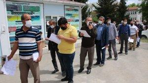 Elazığ'da çiftçilerin ÇKS kuyruğu