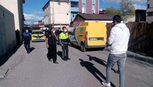 Göle'de polis ve zabıtadan ortak uygulama