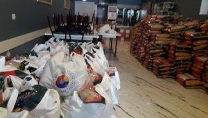 Iğdır'da Azerbaycanlı ailelere yardım eli