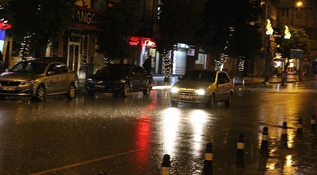 Iğdır'da sağanak yağış etkili oldu
