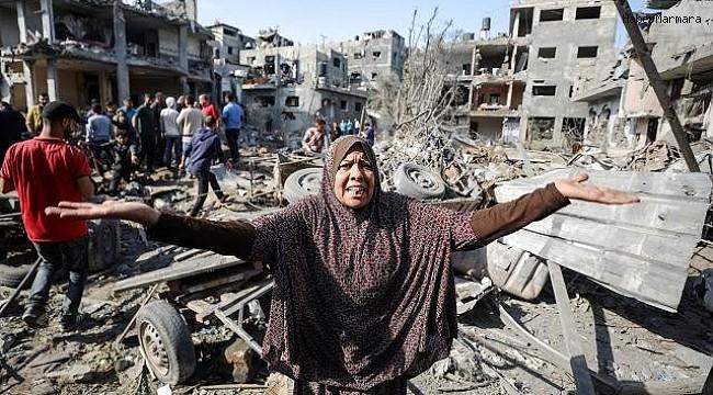 İsrail Gazze'de Katliamını Sürdürüyor